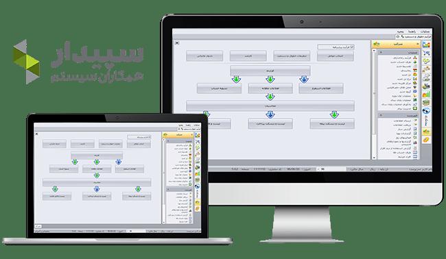 نرم افزار حسابداری سپیدار همکاران سیستم